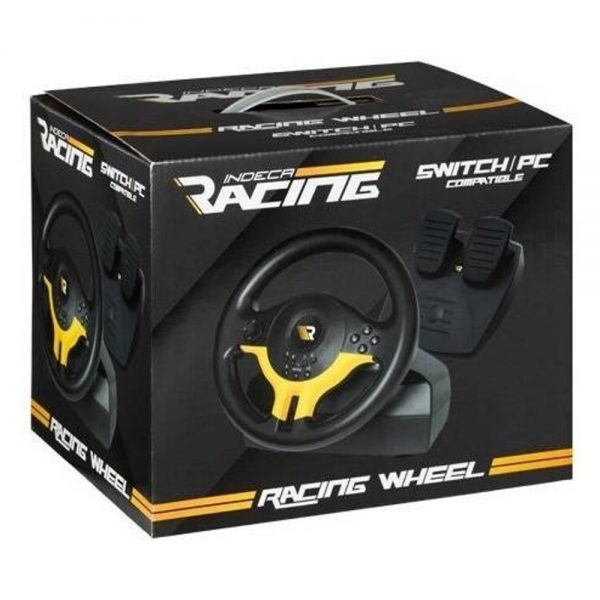 Volante Nintendo Switch Indeca Racing 2018