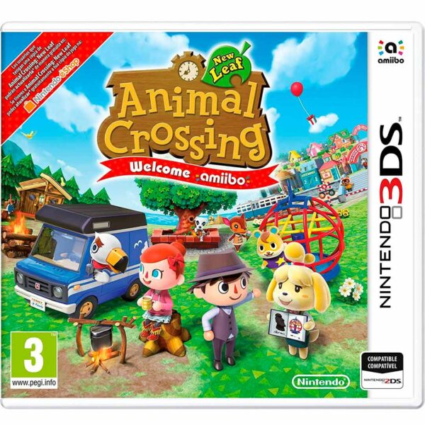 Animal Crossing New Leaf: Welcome amiibo Nintendo 3ds