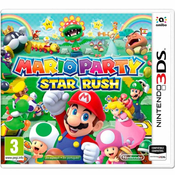 Mario Party: Star Rush Nintendo 3ds