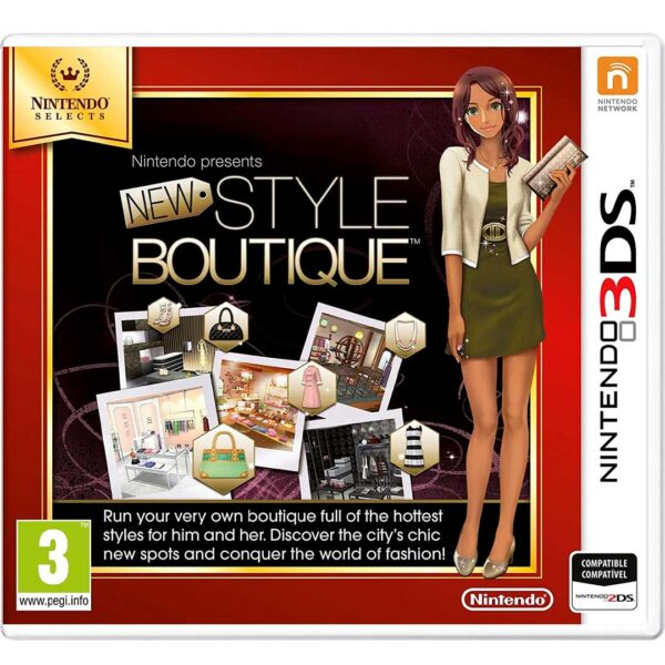 New Style Boutique Nintendo 3ds (Nintendo Selects)