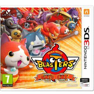 Yo-Kai-Watch-Blasters-Liga-Del-Gato-Rojo-Nintendo-3ds